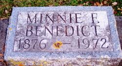 Minnie F. Benedict