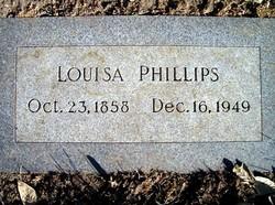 Louisa O. <I>Cooper</I> Phillips