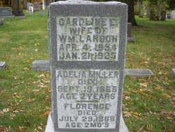 Caroline E <I>Miller</I> Larson