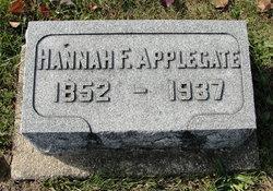 Hannah Frances <I>Cook</I> Applegate