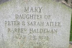Mary Haldeman