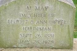 M. May Haldeman