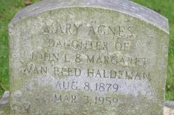 Mary Agnes Haldeman