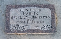 Polly Eliza <I>Walker</I> Harris