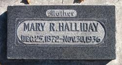 Mary Ann <I>Robinson</I> Halliday