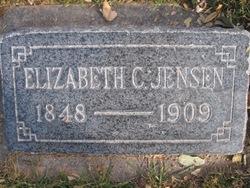 Elizabeth C <I>Rasmussen</I> Jensen