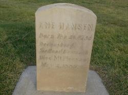Anna <I>Madsen</I> Hansen