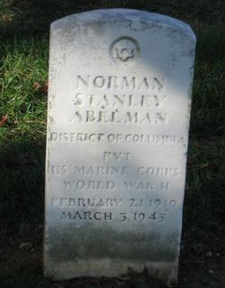 PVT Norman Stanley Abelman