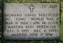Martha Ann <I>Langham</I> Berthold