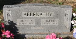 Hettie <I>Fryar</I> Abernathy