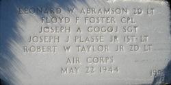 2LT Robert W Taylor, Jr