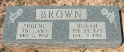 Mary Bulah <I>Roden</I> Brown