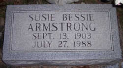 Susie Bessie Armstrong