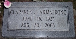 Clarence J Armstrong