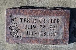 Max Ray Greener