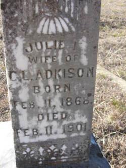 Julie <I>Arrington</I> Adkison