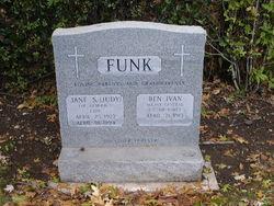 "Jane S. ""Judy"" <I>Simmons</I> Funk"