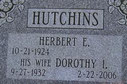 Dorothy I. <I>Spencer</I> Hutchins