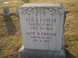 George Borst Posson
