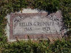 Hellen Georgiana <I>Leonard</I> Rudolph