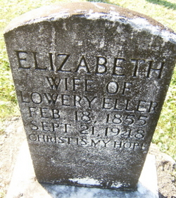 Elizabeth <I>Yates</I> Eller