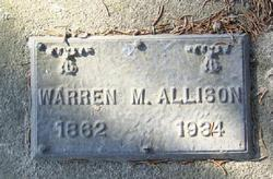 Warren Martin Allison