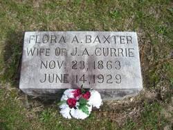 Flora A <I>Baxter</I> Currie