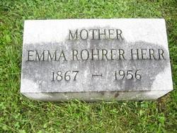 Emma Susan <I>Rohrer</I> Herr