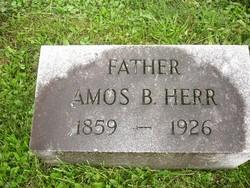 Amos Breneman Herr