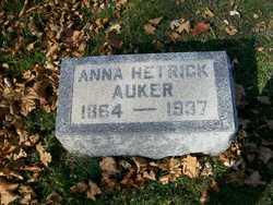 Anna Hetrick <I>Wesley</I> Auker