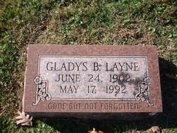 Gladys <I>Thaxton</I> Layne