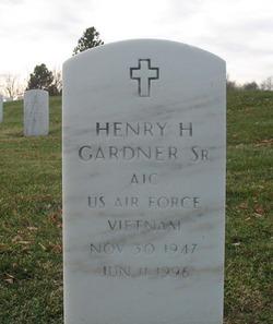 Henry H Gardner, Sr