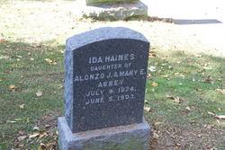 Ida Haines Abbey