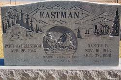 Patsy Jo <I>Hellstrom</I> Eastman