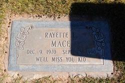 Rayette L Mace