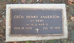 Cecil Henry Anderson