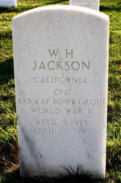 "CPL W H ""Dub"" Jackson"