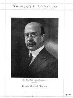 Rabbi Rudolph Grossman