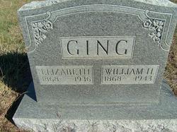 Elizabeth Clara <I>Smith</I> Ging