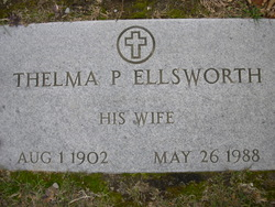 Thelma <I>Plaisted</I> Ellsworth