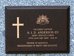Capt Andrew Ira Douglas Anderson