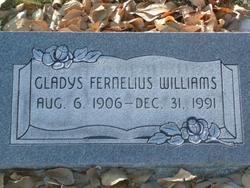 Gladys <I>Fernelius</I> Williams