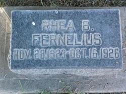 Rhea Bybee Fernelius