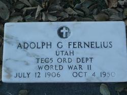 Adolph Gilbert Fernelius