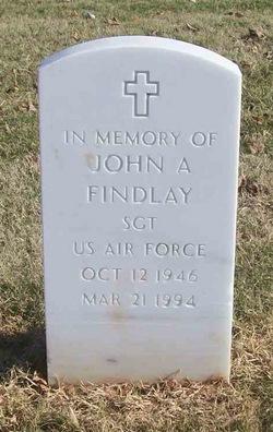 John A Findlay