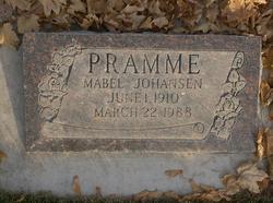 Mable J Pramme