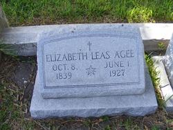 Elizabeth <I>Leas</I> Agee