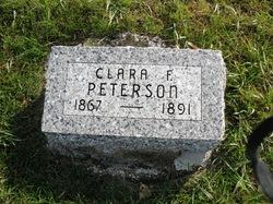 Clara <I>Friedley</I> Peterson