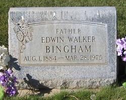 Edwin Walker Bingham