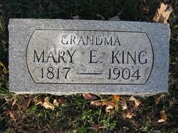 Mary E. <I>Crews</I> King